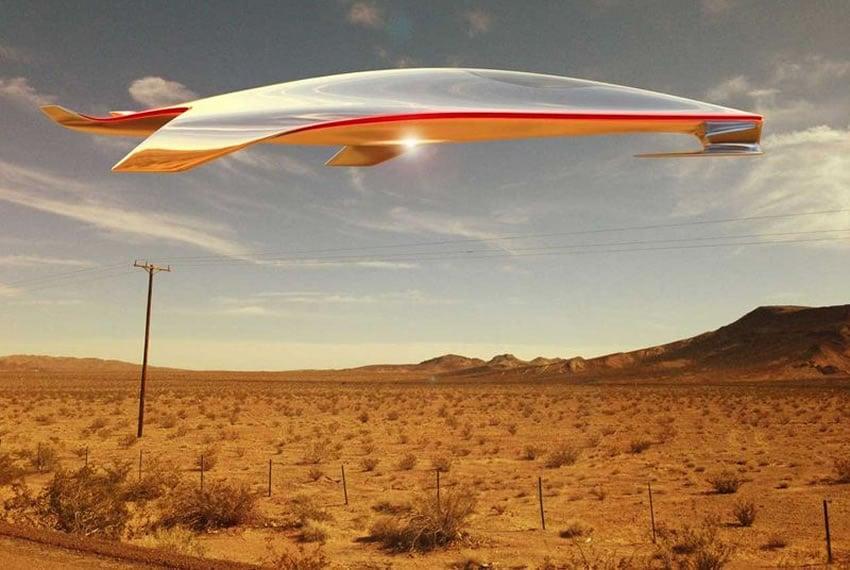Laferrari S Designer Imagines A Spaceship And Its Stunning