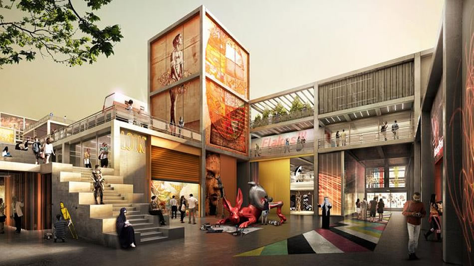 Fosters partners to help weave world s most creative hub for Nearest hotel to dubai design district