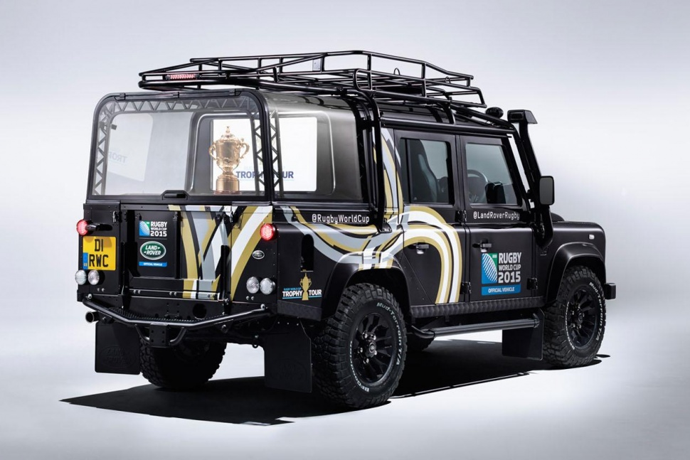 Land Rover Builds A One Off Defender To Celebrate The 2015