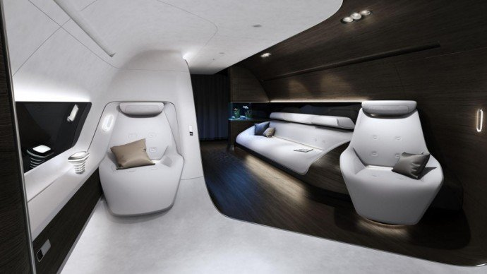 Virtually seamless ceiling to floor construct; great use of available space