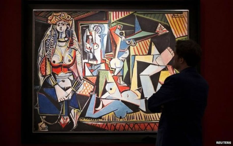 Picasso's Women of Algiers becomes the world's most expensive painting after selling for a record $179 million -