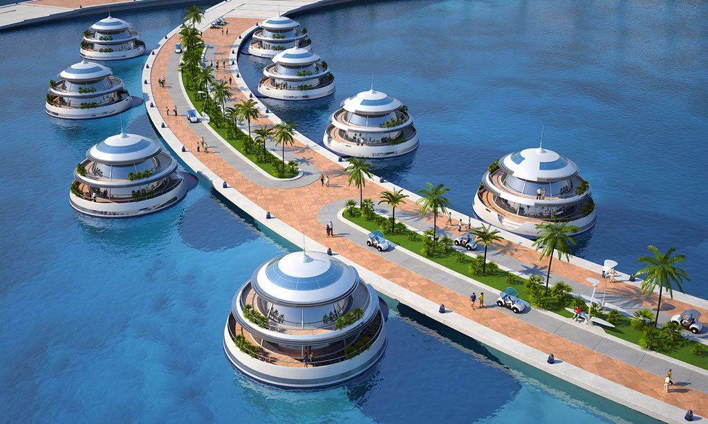 Qatar Is Building An Octopus Shaped Floating Luxury Hotel