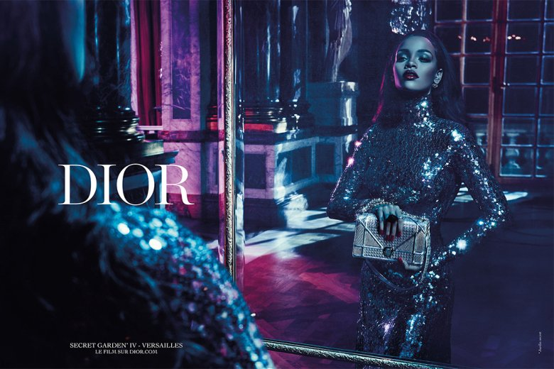 Sneak Peek: Rihanna's Dior Secret Garden Campaign : Luxurylaunches