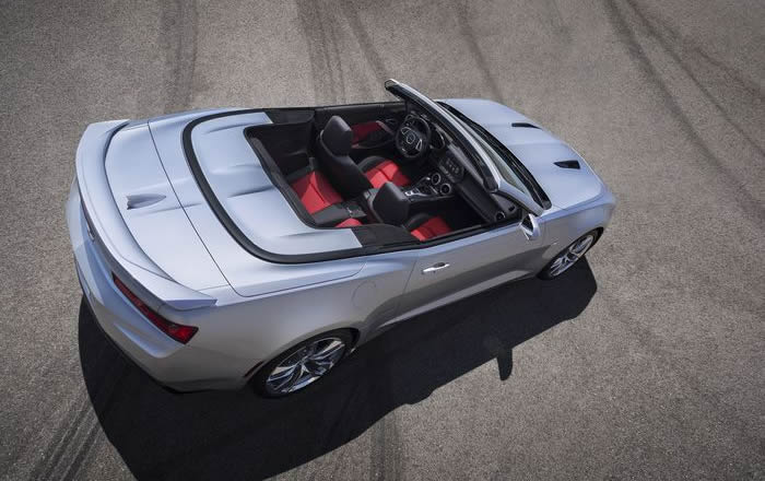 2016 Chevy Camaro convertible revealed, comes with hard ...