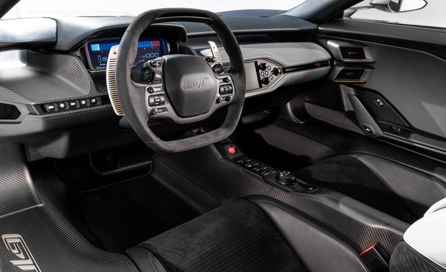 Ford Interior Handlebar Car Ford Gt