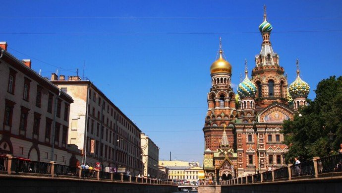 Church-of-the-Savior-on-Blood-St-Petersburg– Russia-1
