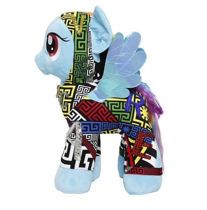 Donatella-Versace-Rick-Owens-create-own-Little-Ponies-6