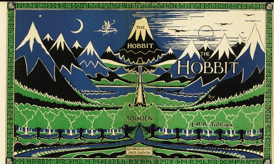First Edition Copy Of The Hobbit With Author S Inscription