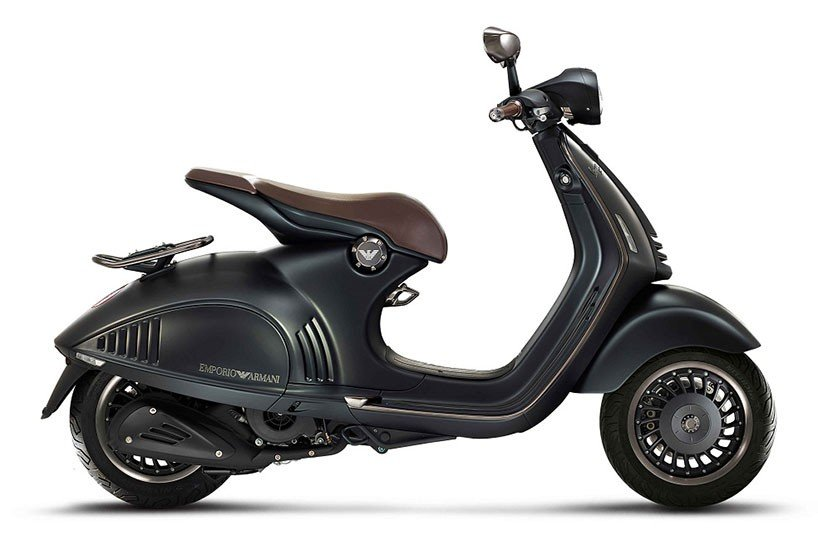 First Look: Giorgio Armani creates a custom Vespa for Armani's 40th anniversary : Luxurylaunches