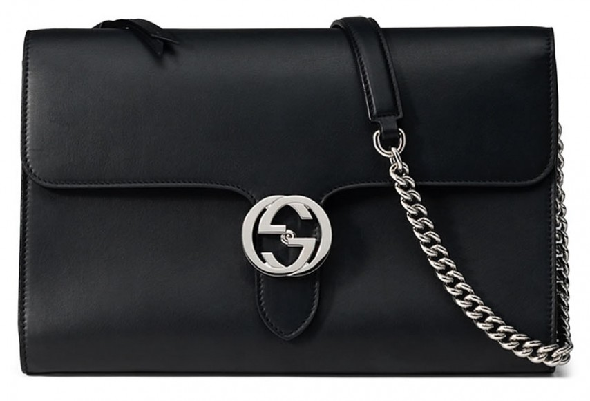Gucci-Interlocking-Bag-Black