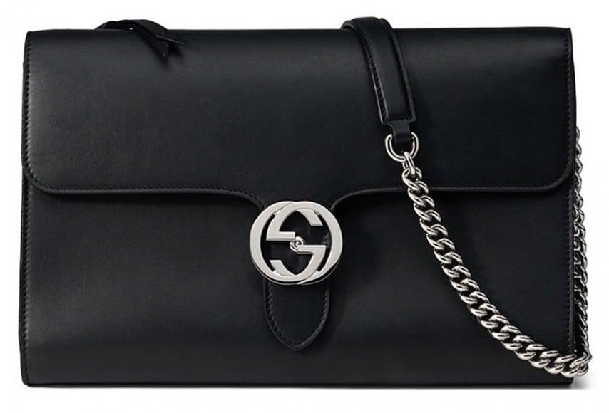 Gucci-Interlocking-Bag-Black