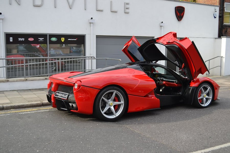 Autotrader Used Cars >> LaFerrari up for sale in the UK with a $3.1 million price tag