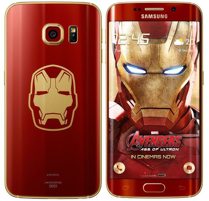 Limited-Edition-Samsung-Galaxy-S6-Edge-Iron-Man-smartphone-2