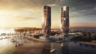 Sinewy-tapering-towers-Zaha-Hadid-for-Gold-Coast-in-Australia-1