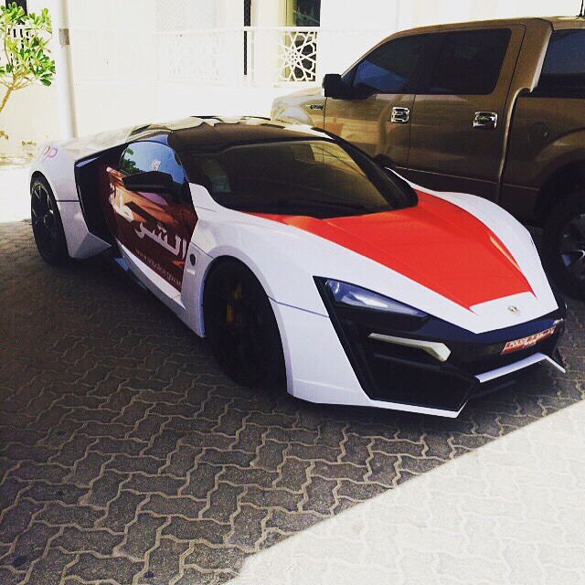 Most Expensive BMW >> Abu Dhabi police adds a super-rare, $3.5 million Lykan ...