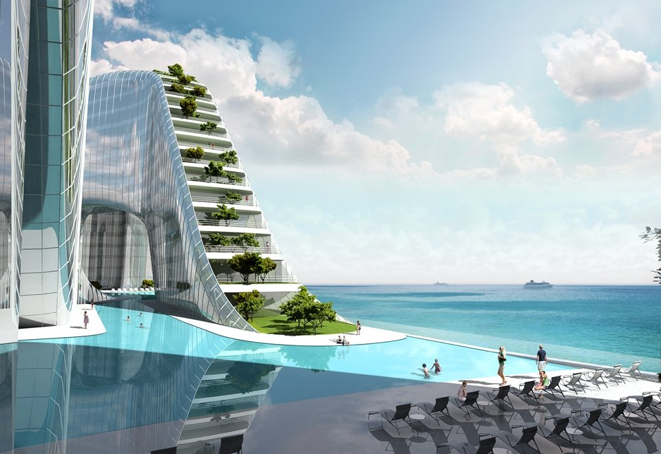 Check out this radical sea side resort in pyeongchang set for Design hotel korea