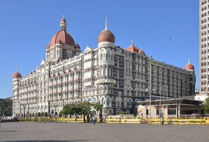 The Taj Mahal Palace hotel, Mumbai, India.