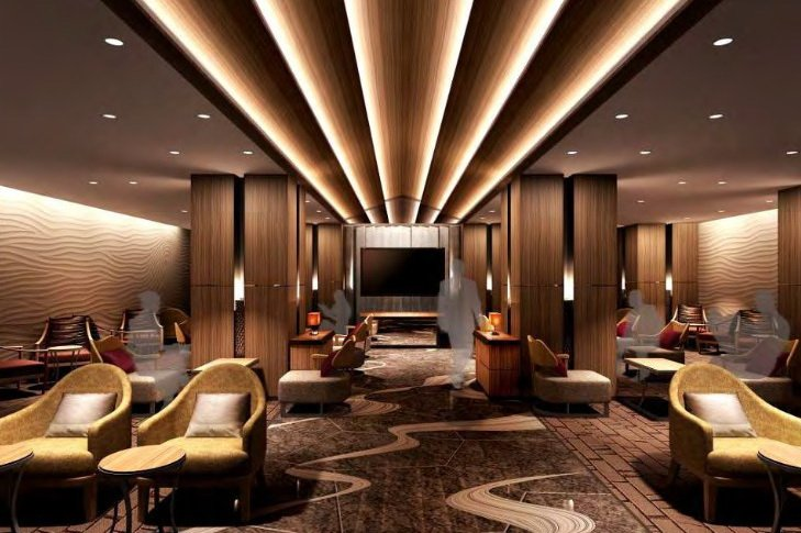 Check out the super luxurious train lounge being built in Japan : Luxurylaunches