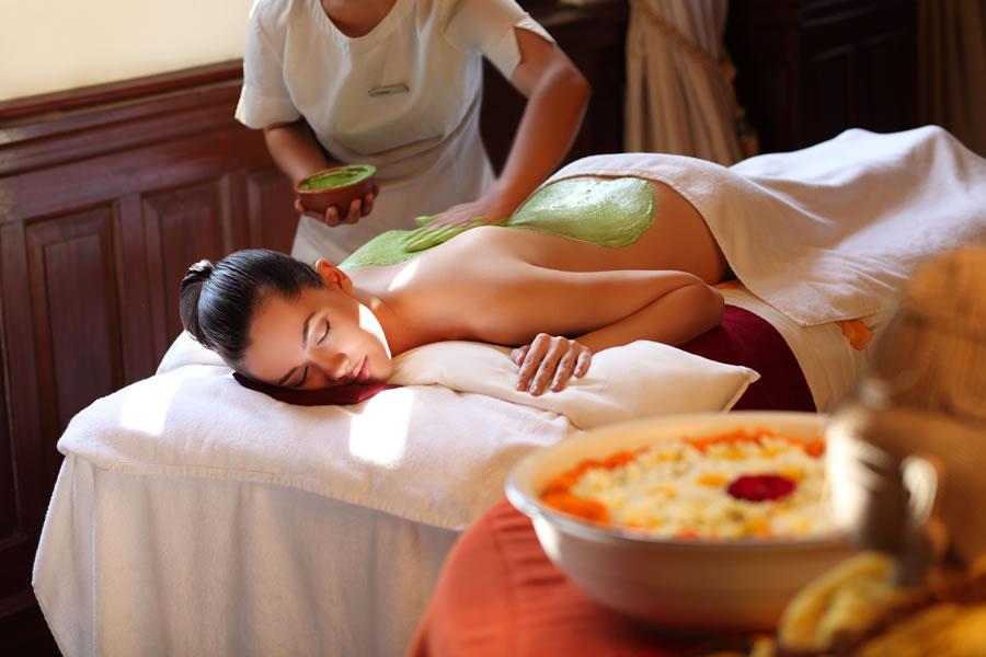 A spa experience at Ananda