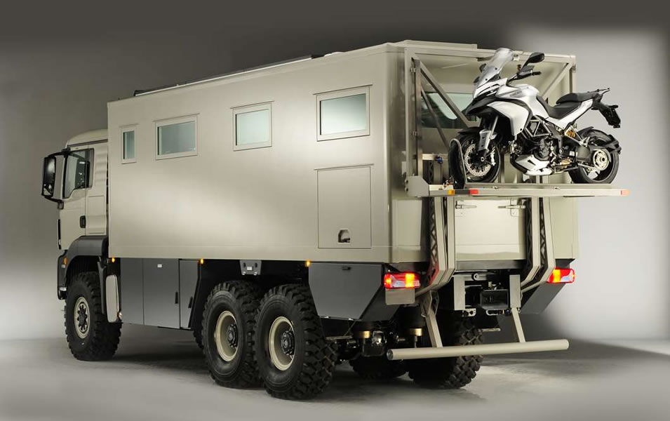 Go where no RV has gone before with the Action Mobil Global\'s XRS ...