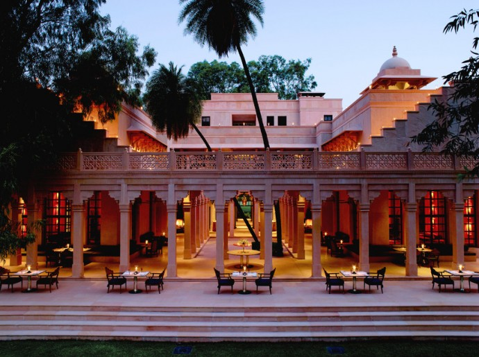 Amanbagh - Terrace Dining-scr