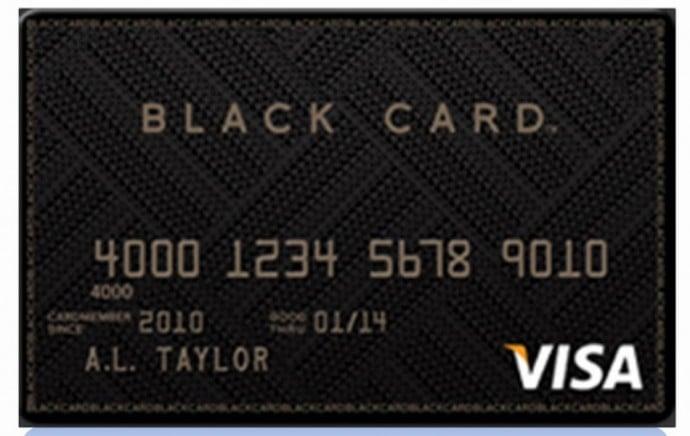 Barclays Visa Black Card X
