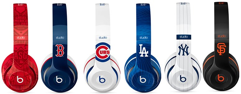 Beats by Dre hits the baseball diamond with limited edition