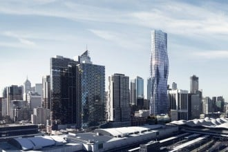 Beyonce-inspired-creation-of-curvy-78-storey-skyscraper-in-Melbourne-1