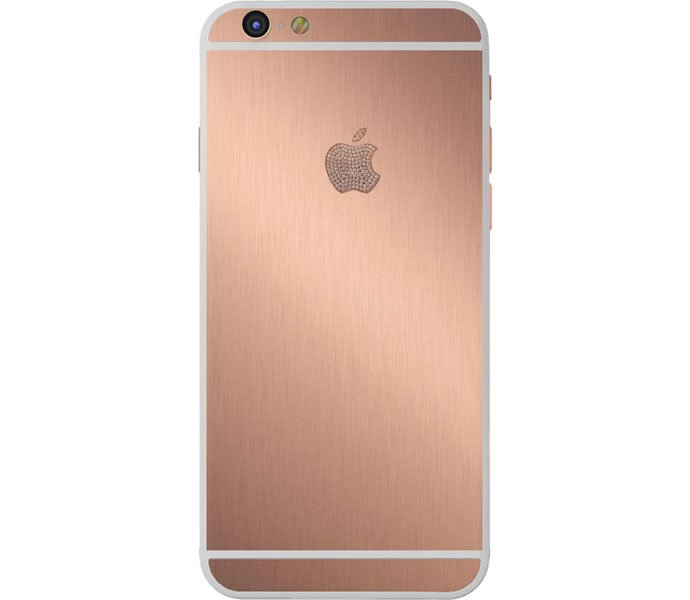 brushed 24k rose gold iphone 6 plus from parco mura sells for a cool 10 000. Black Bedroom Furniture Sets. Home Design Ideas