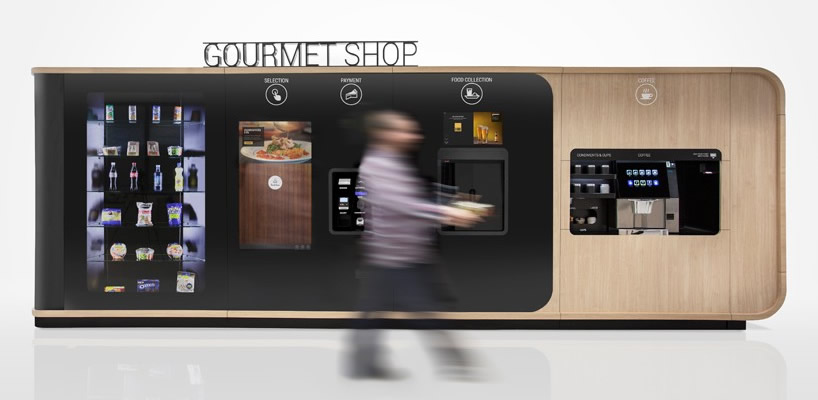 Button Gourmet by Mormedi is the vending machine for those with a more refined taste in food : Luxurylaunches