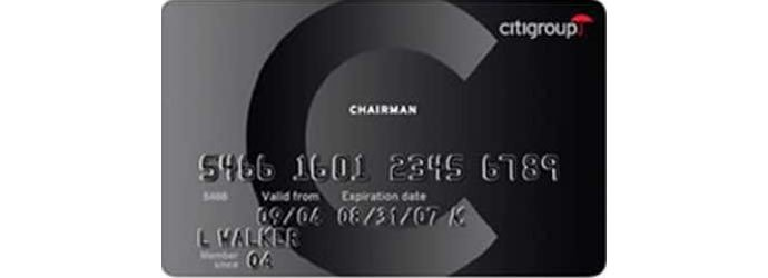 Citibank-Chairmans-card