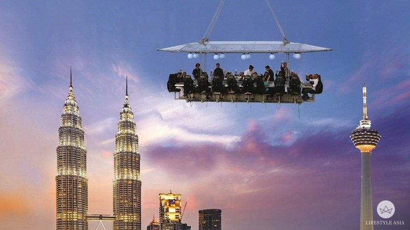 Dinner In The Sky A Whole New Level Of Open Air Dining