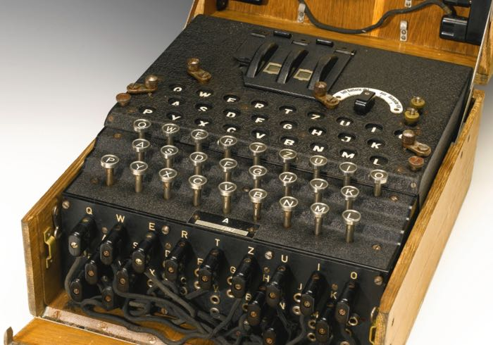 Extremely Rare Enigma Machine From World War Ii Purchased