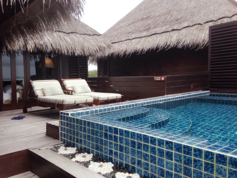 Extrerior View - Deluxe Lagoon Villa with Plunge Pool