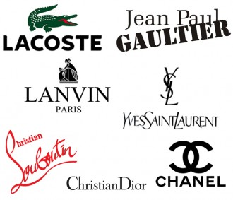 Fashion Words In French