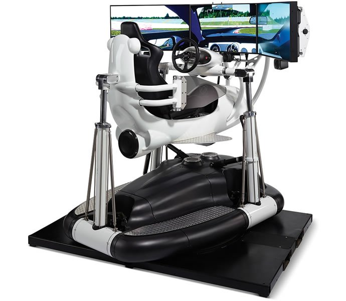 Hammacher-Schlemmer-suspended-racing-simulator-2
