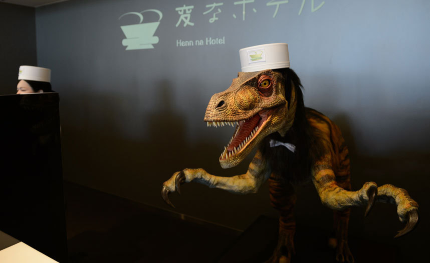 Pics - How is to check in to the worlds first hotel run by robots : Luxurylaunches