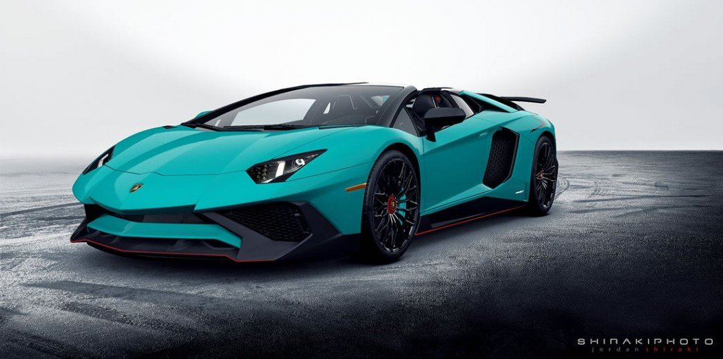 The First Set Of Images Of The Highly Anticipated Lamborghini Aventador LP  750 4 Superveloce Roadster Has Been Released Online. Automotive And Fashion  ...