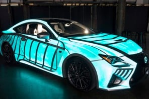 Lexus-RC-F-glows-with-your-heartbeat-car-1