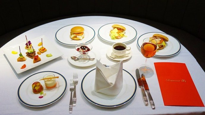 Just for one night McDonalds opens a luxury pop up restaurant in Tokyo : Luxurylaunches