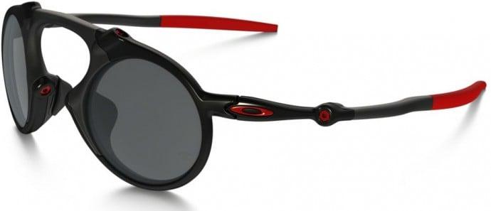Made of carbon fiber these Oakleys pay homage to Scuderia Ferrari