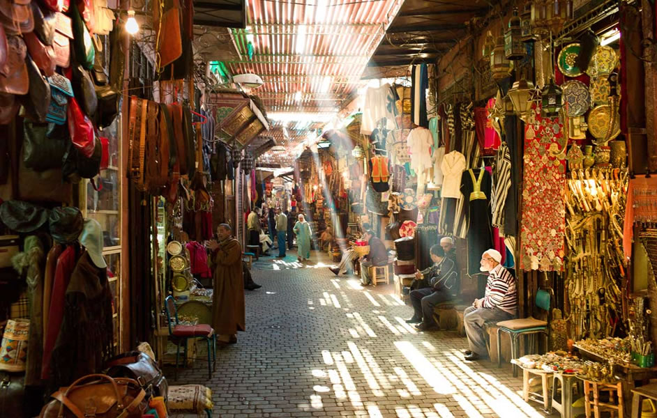 souk-in-the-medina-Marrakech-6