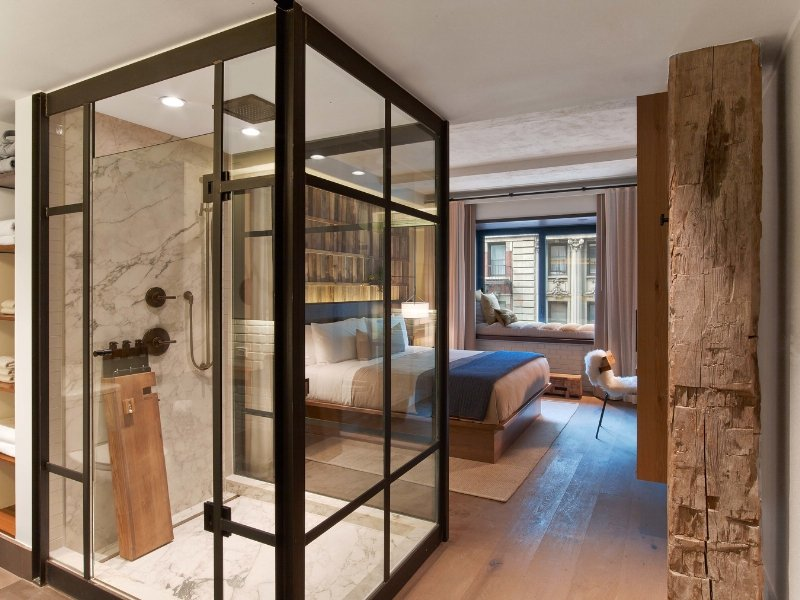 Central Park Bathrooms 1 hotel central park, new york gets a new ecoluxury hotel