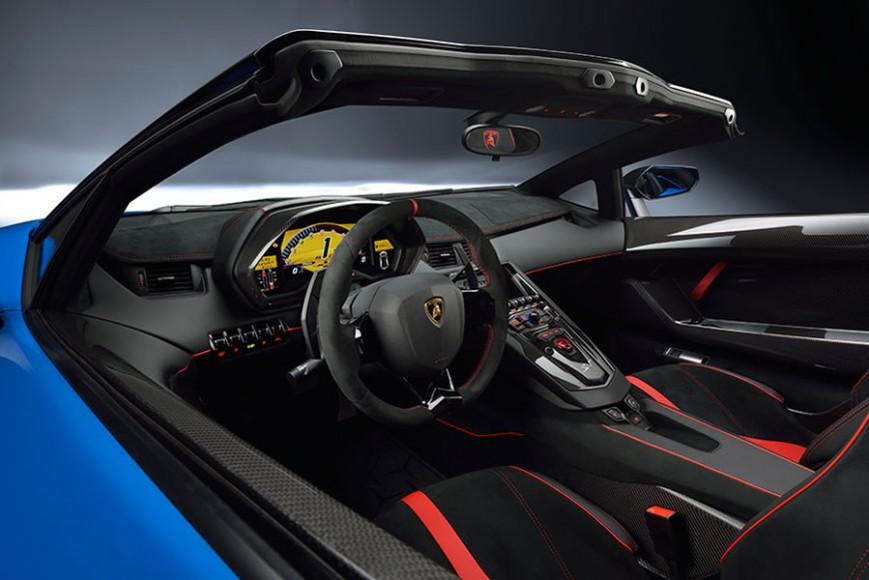 2016 Lamborghini Aventador Superveloce Roadster 4