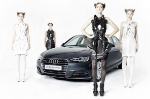 3D printed dresses from Audi car parts 1