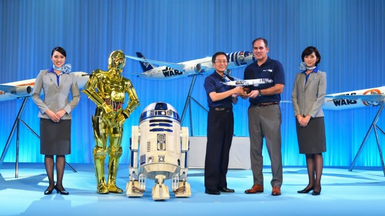 4-Star Wars planes feature R2-D2 and BB-8