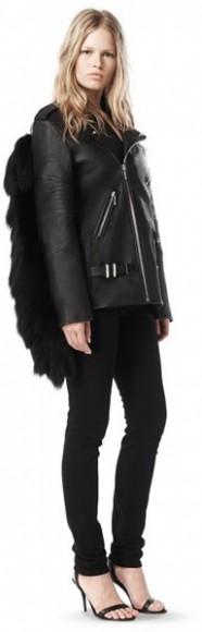 Fall 2009 moto leather jacket, $2,995.