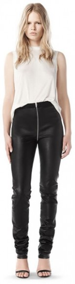 Fall 2008 stretch leather pants, $1,295.