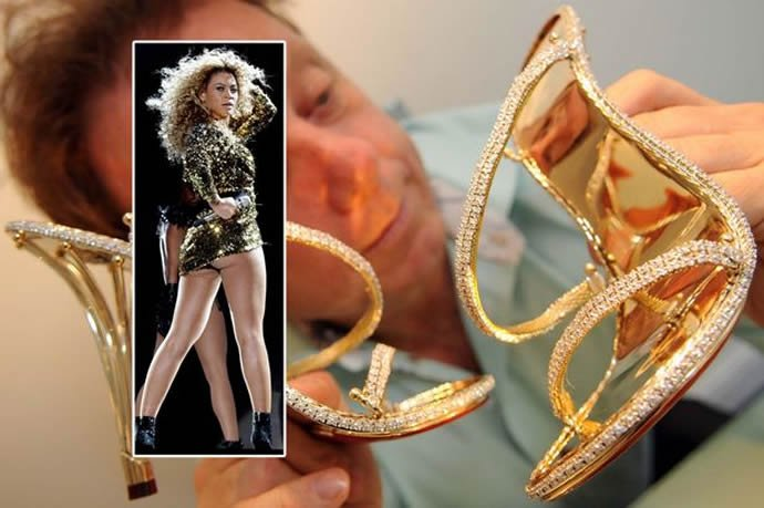 Beyonce S Latest Shoe Satiation Comes With A 163 200 000