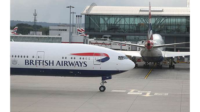 British Airways reduces hand luggage allowance 2